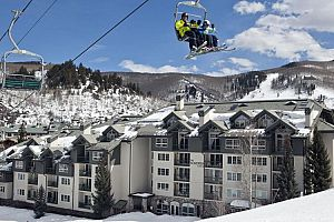 Fantastic ski-in ski-out location at Border\'s Lodge.
