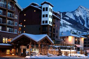 Fantastic slopeside location in the heart of the resort base area.