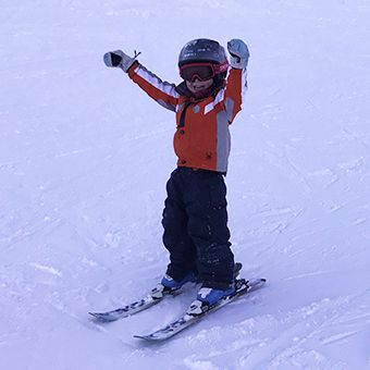 How to get (and keep) kids loving skiing