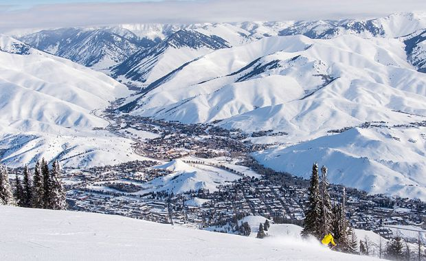 Sun Valley Ski Resort. Photo: Sun Valley