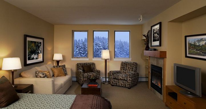 Fireplaces in each condo to cosy up around. Photo: Fraser Crossing & Founder's Pointe Condos.  - image_4