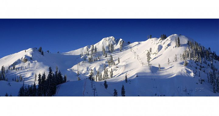 KT-22 mountain at Squaw Valley. Photo: Squaw Valley