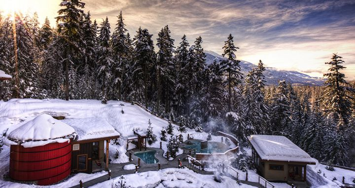 Scandinave Spa in Whistler