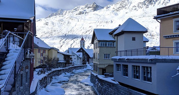 Andermatt\'s old village. Photo: Scout - image 0
