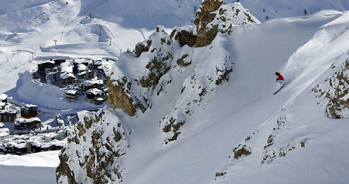 Steep skiing in Tignes. Photo: Tignes Tourism/Jeremy Pontin. - image 0