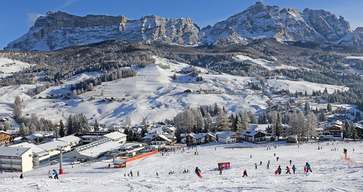 The La Villa slopes at Alta Badia Ski Resort. Photo: Alta Badia Tourism - image 0