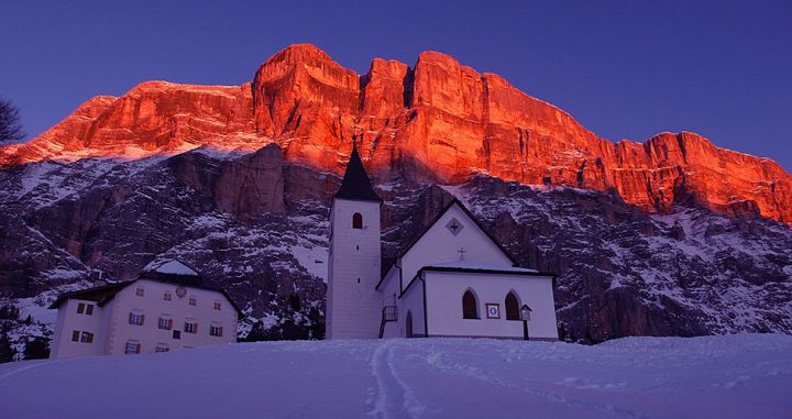 Santa Croce Church in Alta Badia. Photo: Freddy Planinschek - image 0