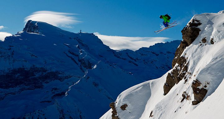 Plenty of places to challenge even the most expert skier in Engelberg. Photo: Engelberg-Titlis - image 0
