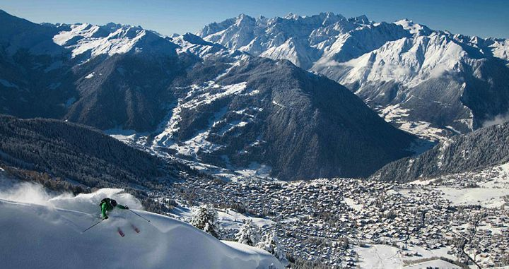 Verbier Village and ski resort. Photo: Verbier Promotion - image 0