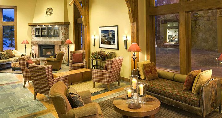 Modern mountain decor throughout the Sundial Lodge. - image_7