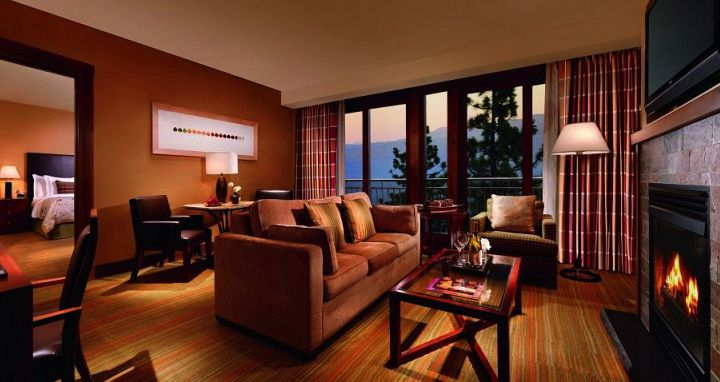 One bedroom suites for small families or for those that want extra space. Photo: Ritz-Carlton Lake Tahoe - image_5