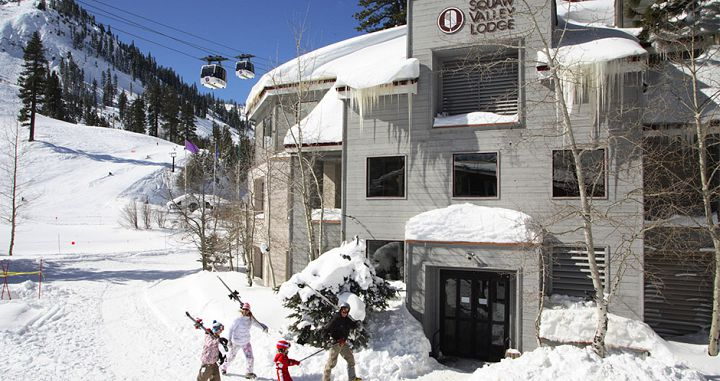 Fantastic ski-in ski-out location on the slopes of Squaw Valley ski resort. Photo: Squaw Valley Lodge - image_6