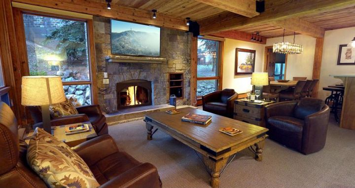 Lovely spacious condos with a great fireplace to cosy up around each evening. Photo: Two Roads Hospitality - image_1