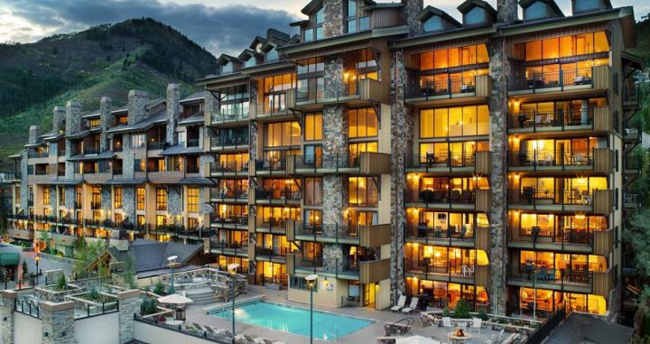 The Landmark in Vail is a perfect property for a family ski vacation. Photo: Two Roads Hospitality - image_0