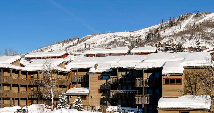 Fantastic location in the heart of Steamboat Springs ski resort. Photo: Resort Lodging Company - image_1