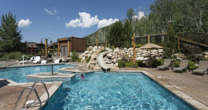 Enjoy the outdoor pools & hot tubs at the end of a day on the slopes. - image_1