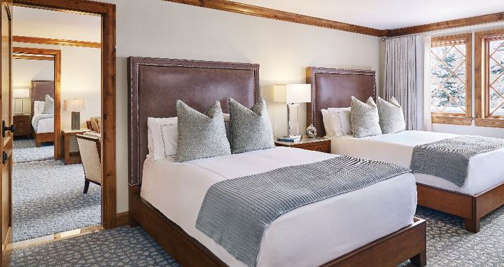 Flexible bedding options and interconnected rooms available for families. Photo: Timbers Resorts - image_8