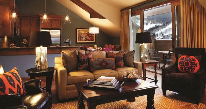 Self-contained residences are perfect for family ski vacations in Vail. Photo: Timbers Resorts - image_9