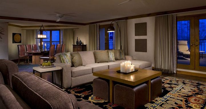 The one and two bedroom suites offer space and comfort. Photo: Park Hyatt Beaver Creek - image_3