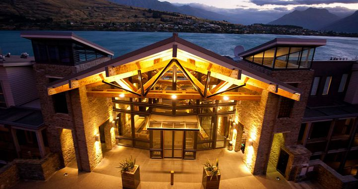 The Rees Hotel And Luxury Apartments Queenstown New Zealand Image 0