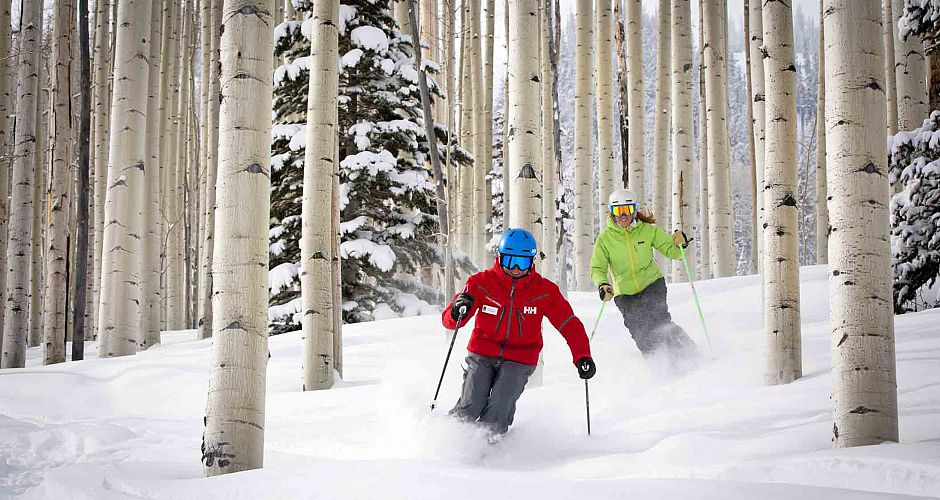 There\'s nothing like skiing powder through the Aspen trees, at Aspen. Photo: Aspen Snowmass - image 0