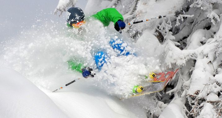 Face shots a-plenty in Steamboat\'s champagne powder. Photo: Colorado Ski Country USA - image 0