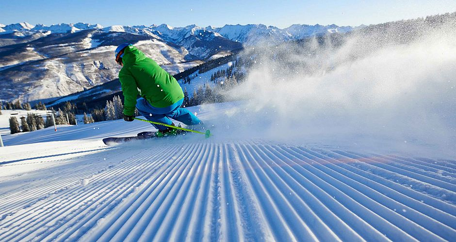 Burn those thighs on some fresh corduroy at Vail. Photo: Vail Resorts  - image 0