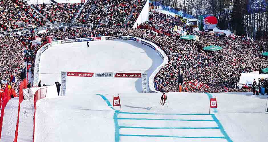 The famous Hahnenkamm race. Photo: Kitzbuhel Tourism - image 0