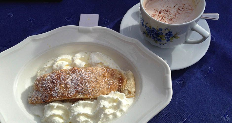 Strudel. A great reason to love skiing in Austria. Photo: Scout - image 0