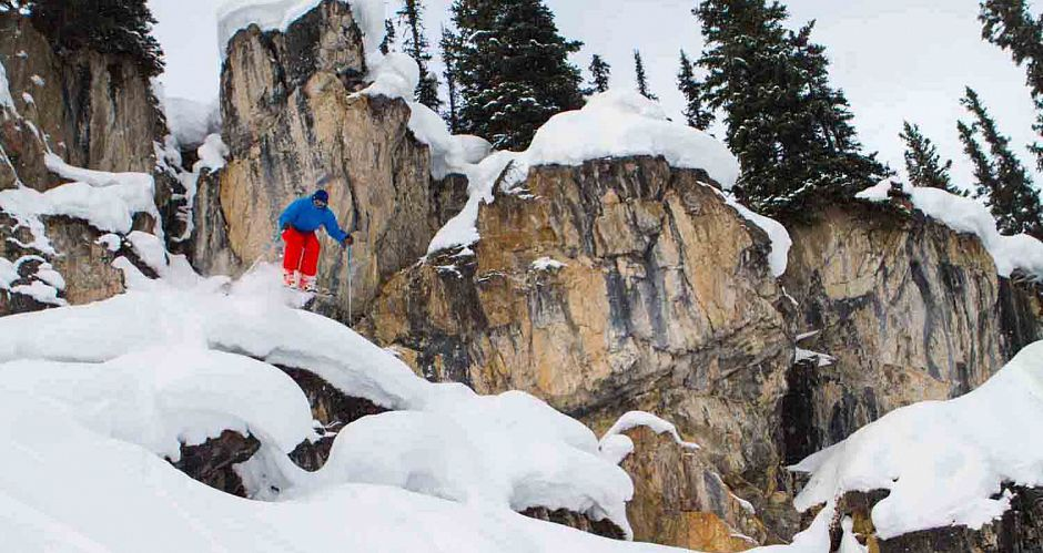 Great expert skiing at Sunshine Village. Photo: Banff Lake Louise/ Paul Zizka Photography - image 0
