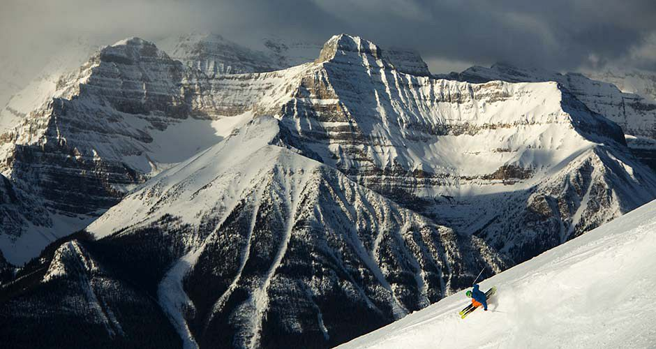 Skiing at Lake Louise. Photo: Banff Lake Louise/ Paul Zizka Photography - image 0