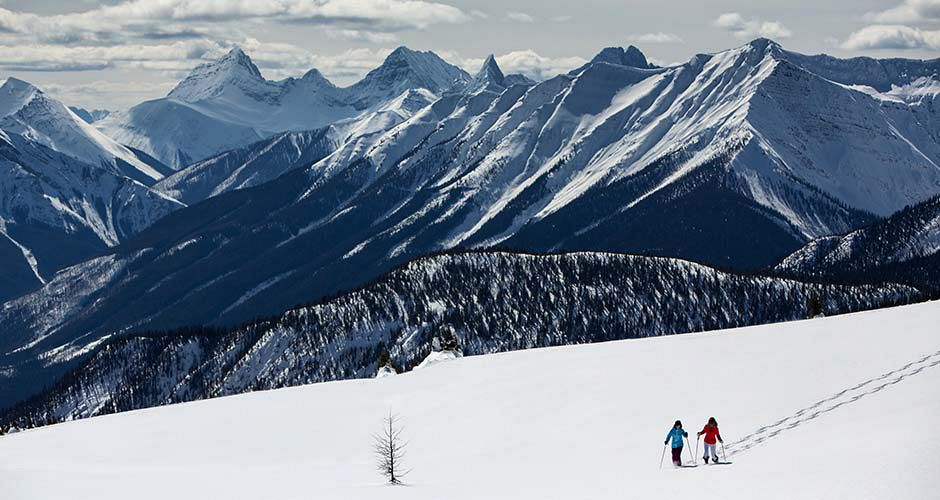Snowshoeing at Sunshine Village. Photo: Banff Lake Louise/ Paul Zizka Photography - image 0