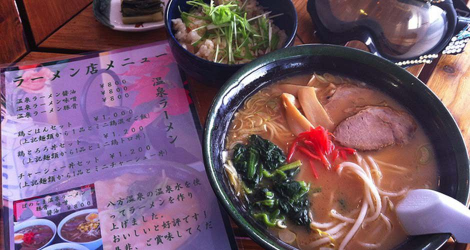 Ramen are the best skiers lunch! Photo: Hakuba Tourism