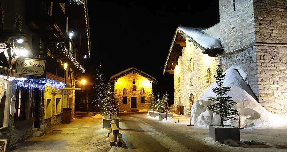 Val d\'Isere old village. Photo: Scout