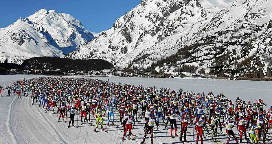 Photo: Engadin St. Moritz/ Engadin Skimarathon