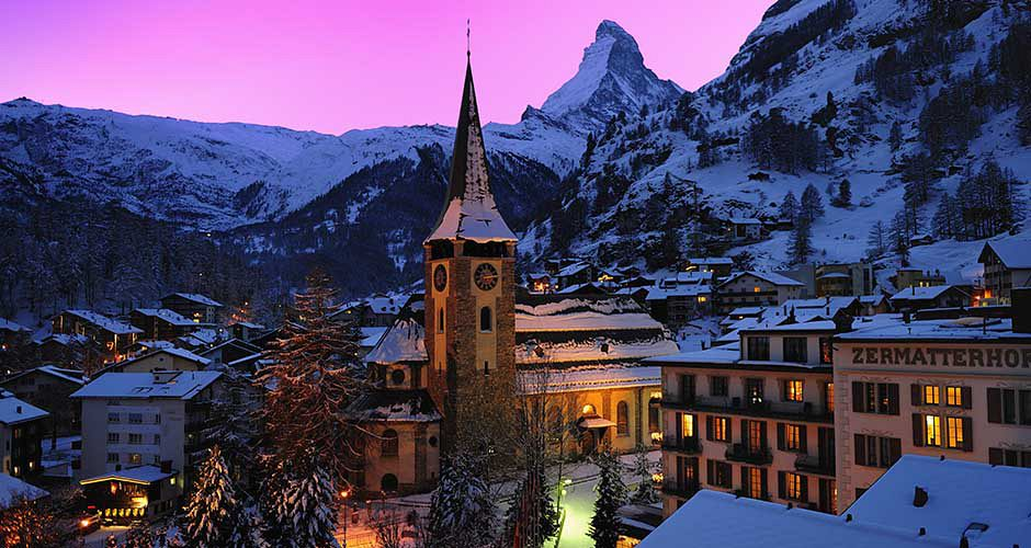 Zermatt Village. Photo: Leander Wenger