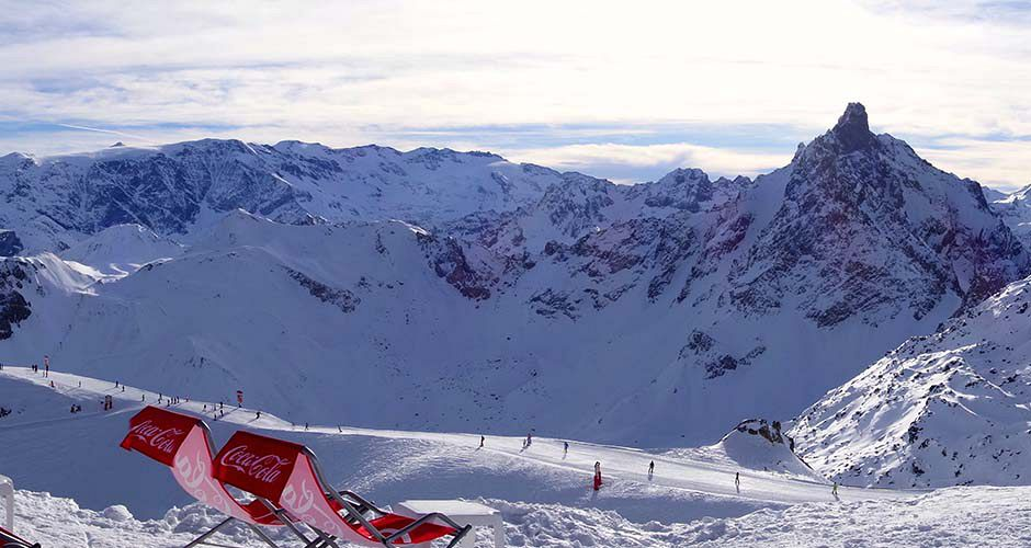 Sit back and enjoy the views in Courchevel. Photo: Scout - image 0